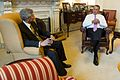 Speaker John Boehner meets with the Ambassador of India to the United States, S. Jaishankar, in his office at the U.S. Capitol.jpg