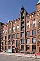 Speicherstadt (Hamburg-HafenCity).Block O.Landseite.ajb.jpg