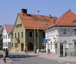 Karlsbad (Baden) - Image: Spielberg Rathaus