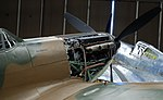 Spitfire Merlin engine detail, Imperial War Museum, Duxford, May 19th 2018. (31827054897).jpg