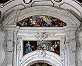 Spoleto, duomo, interno, cappella del sacramento, annunciazione di pietro labruzzi e liborio coccetti, 1790 ca.jpg
