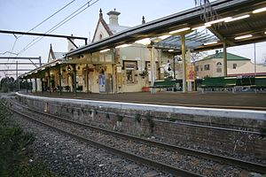Springwood, New South Wales - Image: Springwood station 2