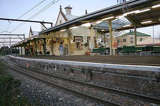 Springwood, New South Wales - Springwood Station (1884)