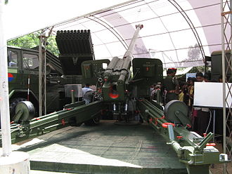 Type 66 howitzer - In Sri Lanka military service