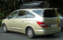 Mercedes Benz Van >> SsangYong Rodius – Wikipedia