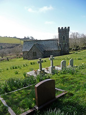Temple, Cornwall - Image: St. Catherine's church, Temple geograph.org.uk 750143