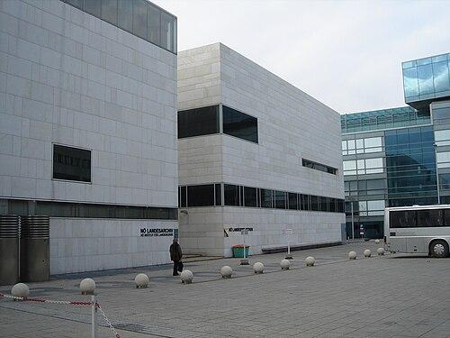St. Pölten Landesarchiv Landesbibliothek