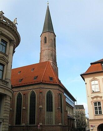 Greeks in Germany - The Greek Salvator church in Munich