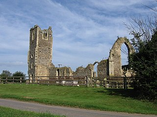 Roudham and Larling Human settlement in England