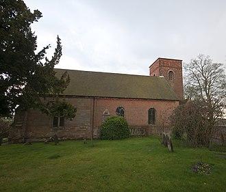 Farewell and Chorley - St Bartholomew's Church in Farewell