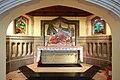 St Benedict's Ealing Abbey, Charlbury Grove, London W5 - Side altar - geograph.org.uk - 1750481.jpg