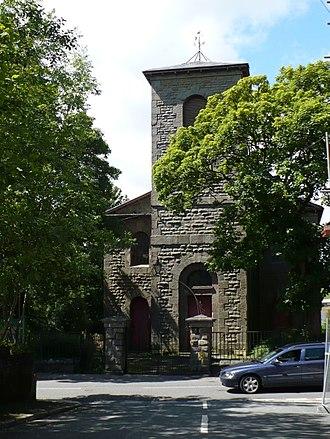 Rhymney - St David's church