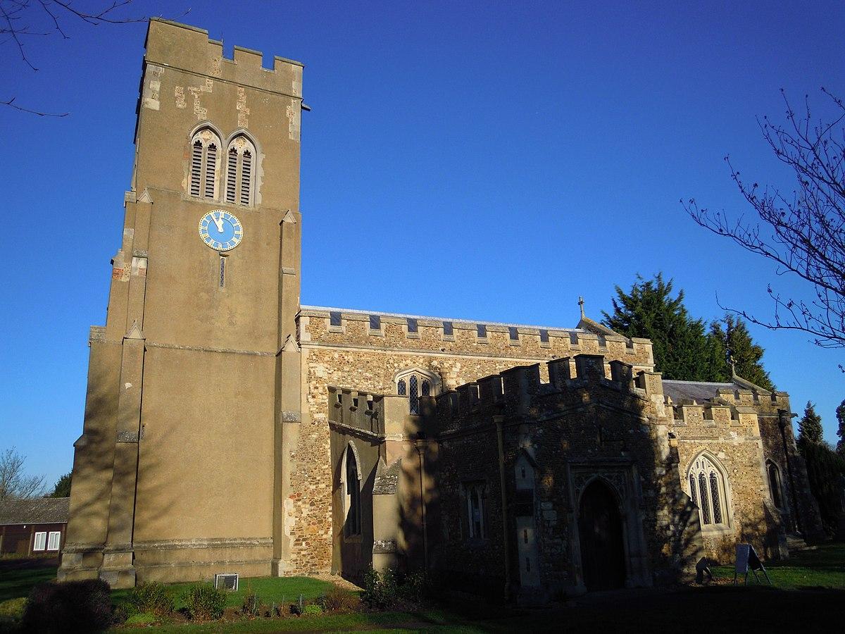 Church of St Mary, Stotfold - Wikipedia