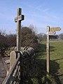 St Oswald's Cross, Heavenfield - geograph.org.uk - 1210275.jpg