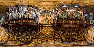 St Patrick's Cathedral Choir 360x180, Dublin, Ireland