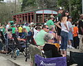 St Pats Parade Day Metairie 2012 Parade C1.JPG