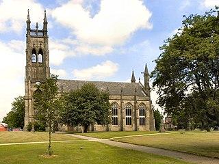 St Peters Church, Ashton-under-Lyne Church in Greater Manchester, UK