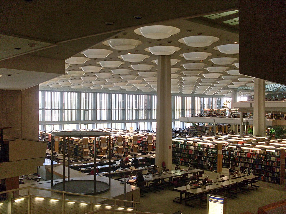 Staatsbibliothek zu Berlin (Kulturforum) interior