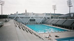 Sport in Barcelona - Piscines Bernat Pools, one of the arenas of 2003 World Aquatics Championships.