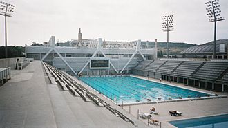 Swimming at the 1992 Summer Olympics - Image: Stade Olympique Bercelone 3