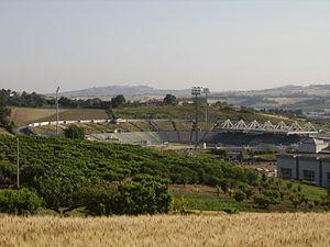 Stadio del Conero - Image: Stadio Conero Ancona