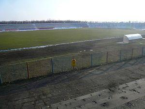 Stadionul Moldova (Roman) - Image: Stadionul moldova
