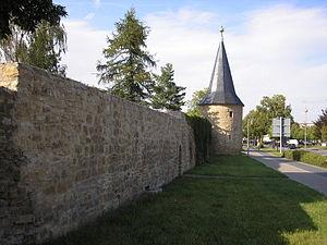 Sömmerda - Image: Stadtmauer Sömmerda