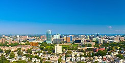 Stamford Connecticut Skyline Aug 2017.jpg