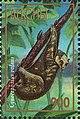 Stamp of Abkhazia - 1997 - Colnect 999816 - Cynocephalus volans.jpeg
