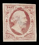 Stamps of the Netherlands NVPH 0002.jpg