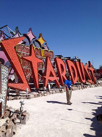 Neon Museum - Image: Stardust sign