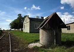 Stary budynek stacji wąskotorowej Jeżów - panoramio.jpg