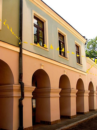 Rosa Luxemburg - Luxemburg's birthplace in Zamość, Poland
