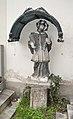 Statue John of Nepomuk, Schwechat cemetery.jpg
