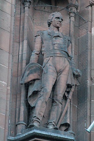 Adam Duncan, 1st Viscount Duncan - Statue of Adam Duncan, Viscount Duncan, Scottish National Portrait Gallery