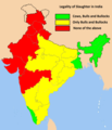 Status of cow slaughter in India.png