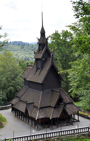 Fantoft Stave Church - Fantoft Stave Church