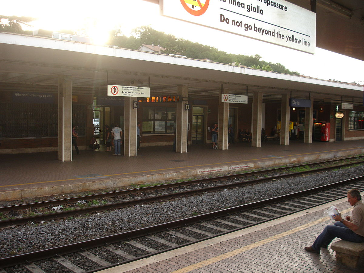 Orte railway station