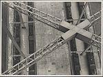 Steam trains on Harbour Bridge, 1932 (8283759450).jpg