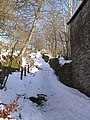 Steep path down into Garrigill - geograph.org.uk - 1157372.jpg