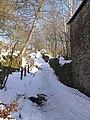 Steep path down into Garrigill - geograph.org.uk - 1157372.jpg
