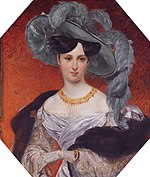 Stephanie Radziwil (1809-1832), by Russian School of the 19th century.jpg