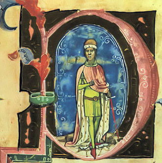 Stephen IV of Hungary - Stephen IV depicted in the Illuminated Chronicle