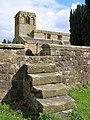 Steps - St. Mary's Church, Leake - geograph.org.uk - 531325.jpg