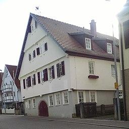 Hindenburgstraße in Kernen im Remstal