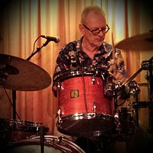 Steve Goulding performing with the Mekons at the Hideout, Chicago, IL on 2015.07.13.jpg