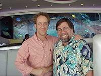 Steve Wozniak and Joey Slotnick