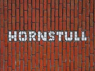 Hornstull - Decoration in the metro station.