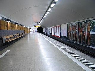 Mariatorget metro station Stockholm Metro station