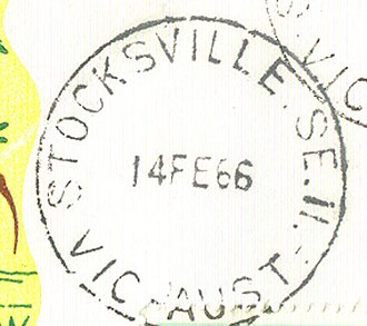 Postal district numbers of Melbourne - Postmark showing postal district number